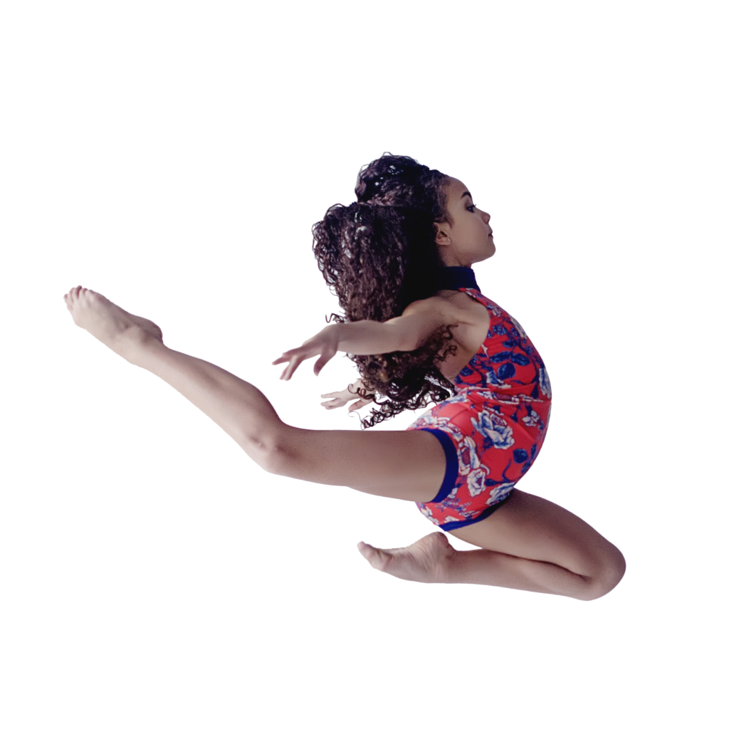Noe Leilani jump square transparent background