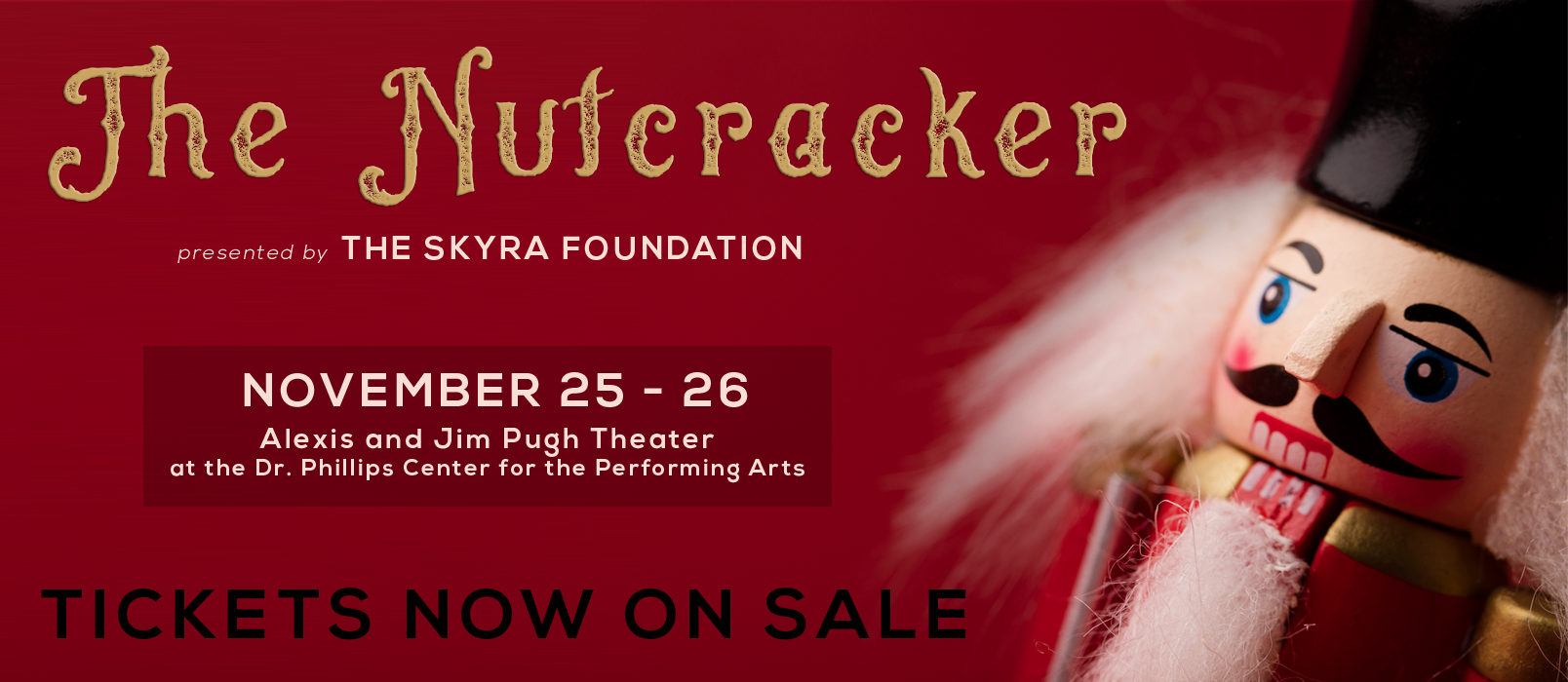 Nutcracker Tickets Now On Sale FB Cover